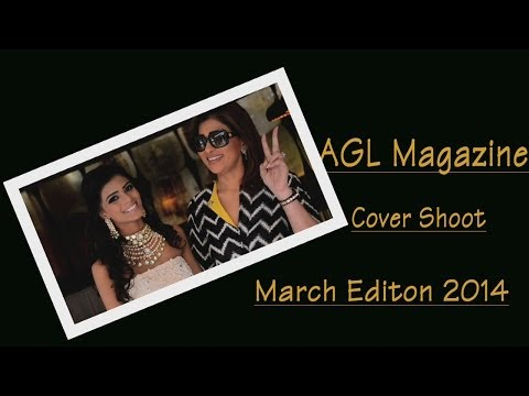 AGL Magazine Cover shoot - March Edition 2014