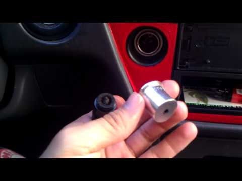 stealth pipe. cigarette car lighter Review