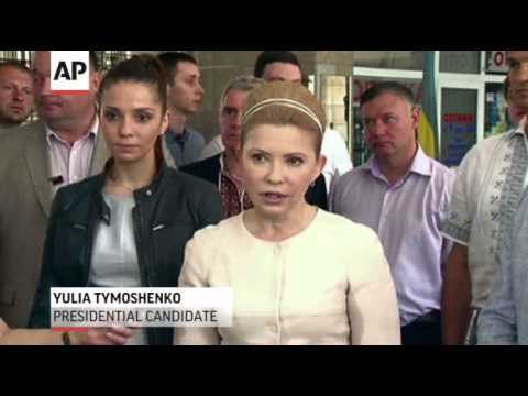 Ukraine Holds Crucial Election