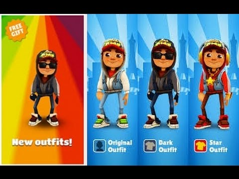 Subway Surfers Dark Outfit - GamePlay Trailer (HD)
