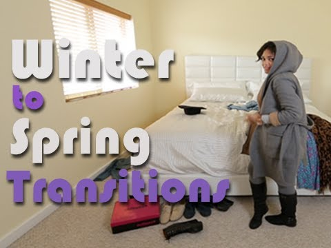 How To Transition Your Winter Wardrobe To Spring Looks | VIBE Vixen Style Profile #1