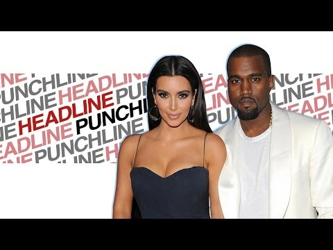 Headline Punchline: Kim and Kayne's Free Paris Wedding | DAILY REHASH | Ora TV