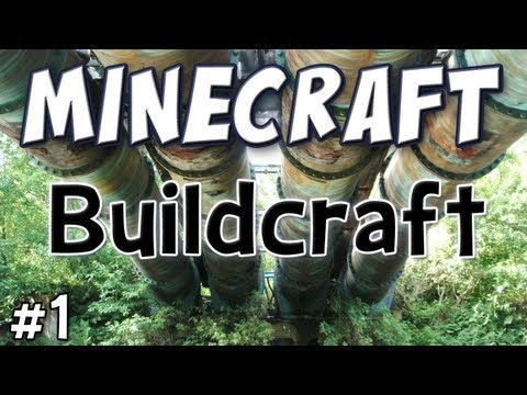 Minecraft - Buildcraft Mod Spotlight - (Technic Pack Part 1)