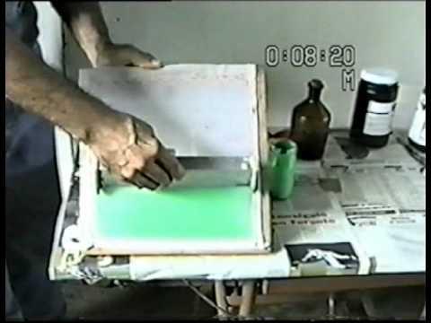 Curso de Serigrafia, Técnica del Foto Escreen