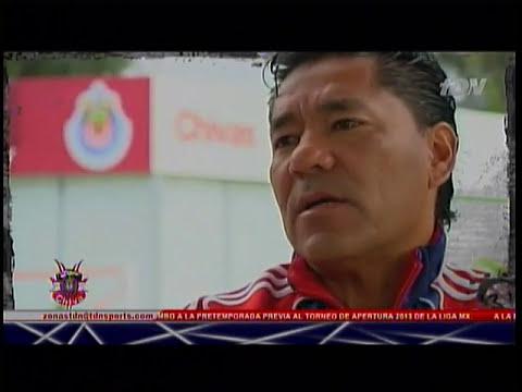 Entrevista de Chapis con Marco Fabián Vázquez por el título de Chivas Sub 20, Zona Chiva 28/03/2013