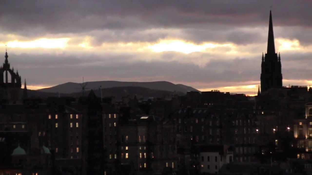 A Walk Around Edinburgh Scotland 27th November 2012