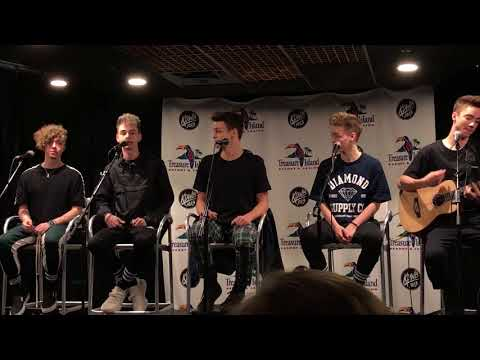 Why Don't We - Trust Fund Baby (acoustic) - 03/06/18