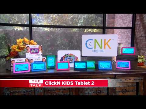 ClickN KIDS Tablet 2 goes on
