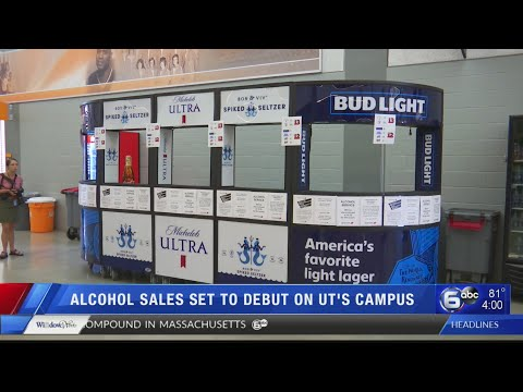 Alcohol sales set to debut on UT's campus
