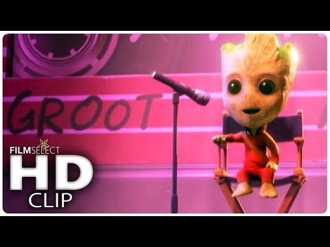 WRECK IT RALPH 2: Baby Groot Scene (2018)