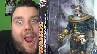 Marvel Select THANOS Disney Store Exclusive Special Collectors Edition Action Figure Review