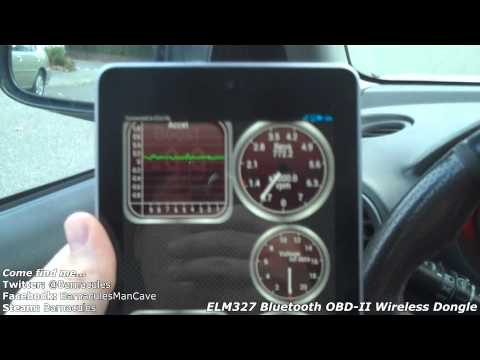 Review of Bluetooth OBD2 Wireless Transceiver Diagnostic Dongle - Check Engine Light