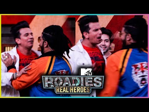 Prince Narula and Raftaar UGLY Fight | MTV Roadies Real Heroes