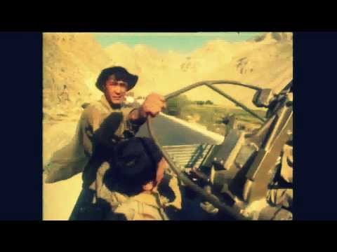 Soviet Troops Ride On BTR   Afghanistan 1989