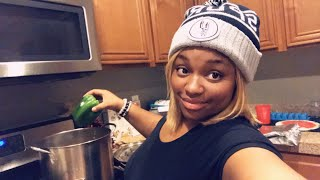 Chat and cook dinner with me!