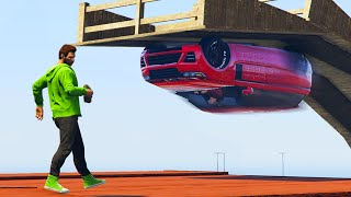 BOMB THE STUNTER! (GTA 5 Funny Moments)