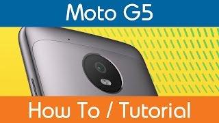 How To Set Moto G5 Keyboard Language