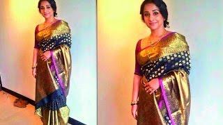 vidhya balan in latest designer sarees