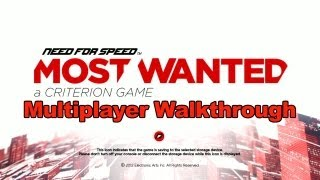 Need for Speed_ Most Wanted - Multiplayer Walkthrough