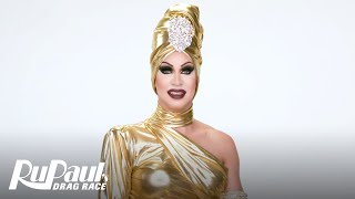 Brooke Lynn Hytes' 'Gold' Look Makeup Tutorial 💄 | RuPaul's Drag Race Season 11