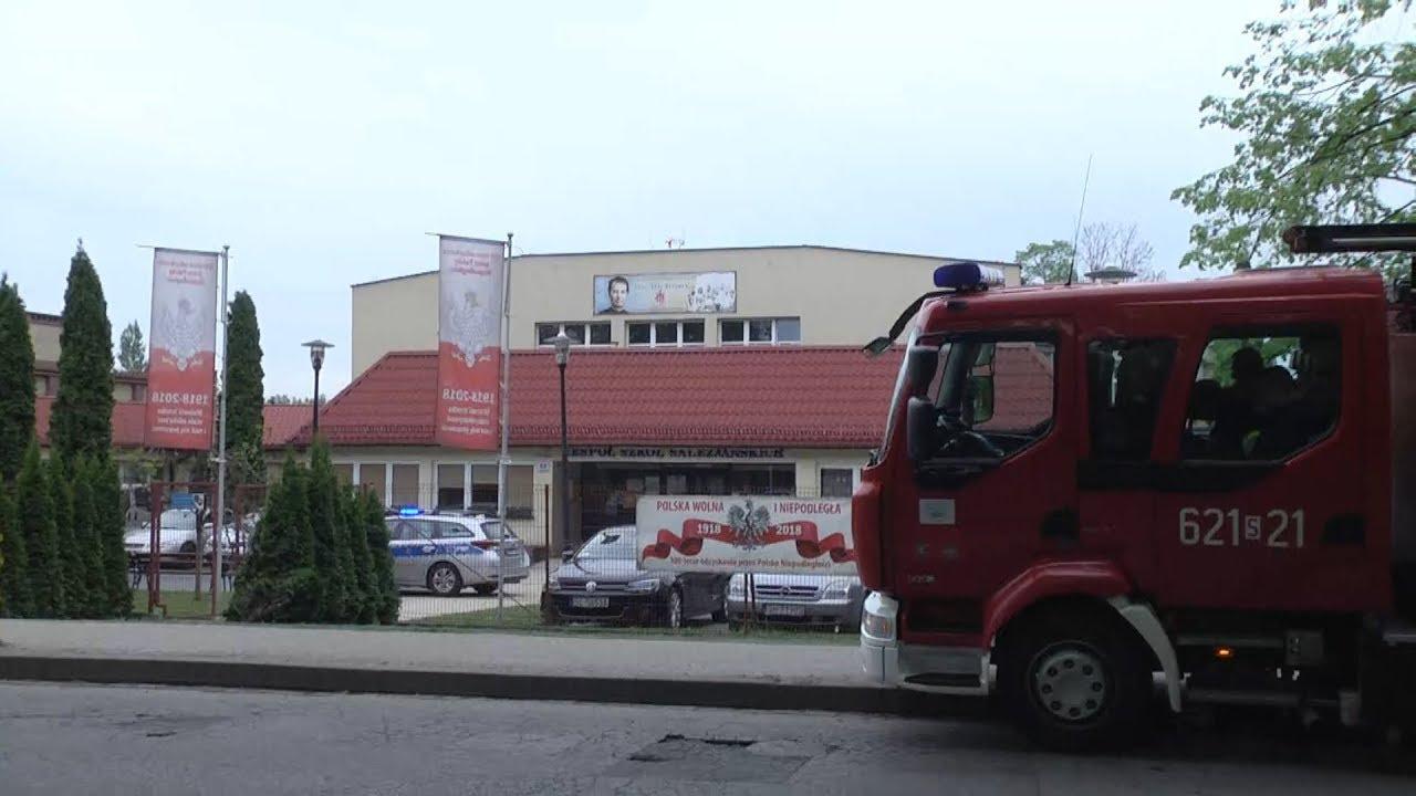 Alarm bombowy w szkole salezjańskiej