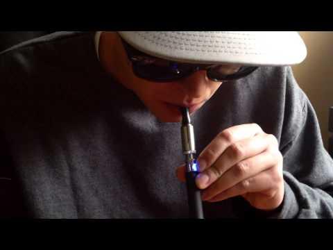 TRISTICK vaporizer pen demonstration & review