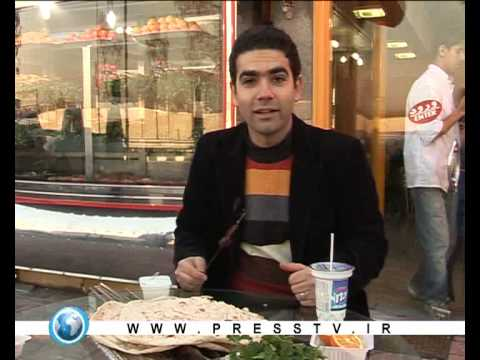 Iranian traditional food and street food in Tehran presstv