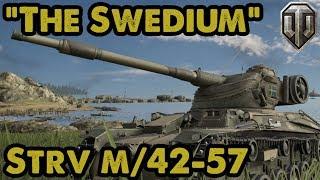 SWEDIUM! Strv m/42-57 Stats + Ace Tanker Gameplay - WoT Console