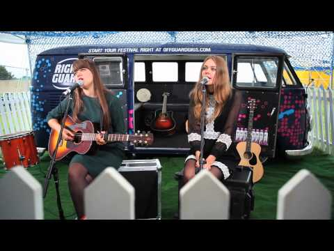 First Aid Kit perform &quot;Emmylou&quot; Exclusively for OFF GUARD GIGS, Latitude, Suffolk, 2012