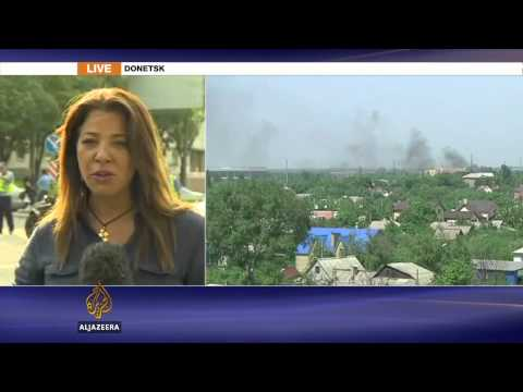 Ukraine troops attack Donetsk airport rebels