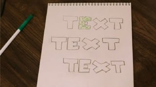 How to Make Vines on Letters : Art & Drawing Tips