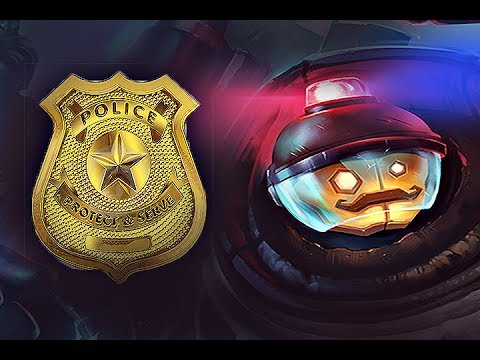 اكاديمية الشرطة【#56】 ليق اوف ليجيندز League of Legends