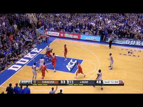 Top Plays: Duke 73 Syracuse 54