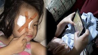 Akibat Sering Menonton Youtube, Balita Ini Kena Sindrom Juling, Curhatan Ayahnya Viral di Medsos