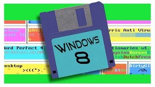 Imagine that Windows 8 was inspired by an old DOS version...