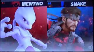 shofu (Mewtwo) vs Xzax (Snake) - Super Smash Bros. Ultimate