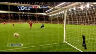 Футбол: аршавин забил четыре мяча ливерпулю!