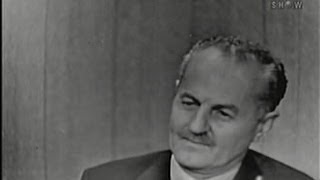 What's My Line? - Darryl F. Zanuck; Sir Cedric Hardwicke [panel] (Oct 5, 1958)