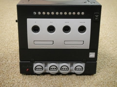 Hailrazer's Nintendo 64 in a GameCube Gameboy Player