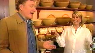 Conan O'Brien visits Martha Stewart