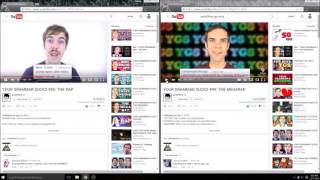 Jacksfilms YGS 85 and 99 synced