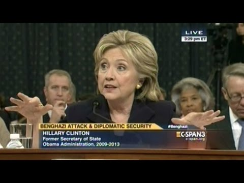 Hillary Clinton Testifies About Benghazi Attacks! (FULL Hearing part_2)