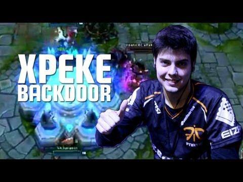 xPeke backdoor vs. SK Gaming (Intel Extreme Masters Katowice)