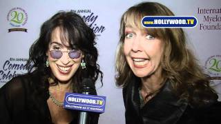 Maggie Wheeler and Monica Horan YT The 4th Annual Comedy Celebration The Wilshire Ebell Theatre 1113