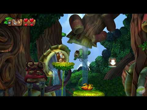 Zona Donkey Kong Country : Tropical Freeze - Let's Play #1 - Isla 1 (1/2)
