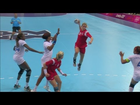 Women's Handball Group B Match - Norway V France | London 2012 Olympics video