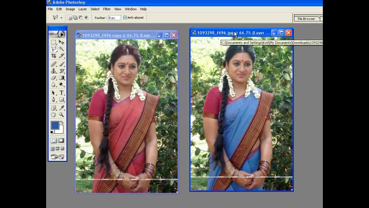 how to remove dress in photoshop 7.0 pdf