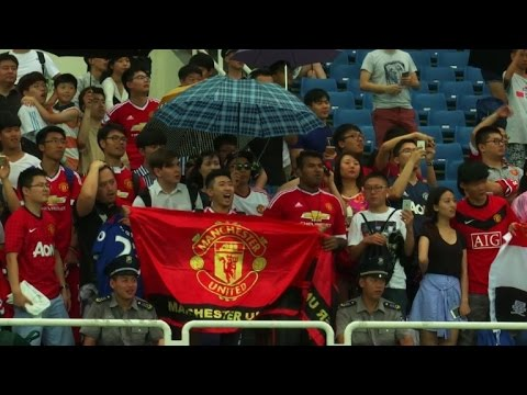 Man United's China tour ends