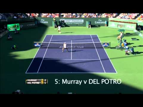 Top 10 Hot Shots Of Indian Wells 2013