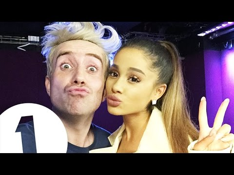 Ariana Grande's Advice Line   Radio 1 Breakfast Show with Nick Grimshaw